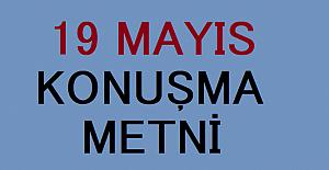 19 MAYIS ÖĞRETMEN KONUŞMA METNİ