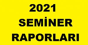 2021 Pandemi Mesleki Çalışma Seminer Raporu
