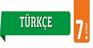 7. Sınıf Türkçe Deneme Testi