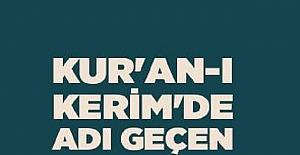 Kur-an'ı Kerimde Adı Geçmeyen Sehabeler