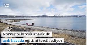 Norveç'te okul öncesi eğitim alan çocuklar!