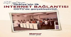 Türkiye'nin İlk İnternet Bağlantısı