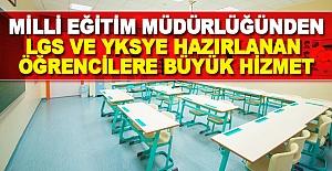 Uzunköprü İlçe MEM'den Sınava Hazırlanan Öğrencilere Büyük Hizmet