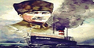 16. Mayıs. 1919 Mustafa Kemal Atatürk Kurtuluş Savaşını Başlatmak İçin Samsun'a Doğru Yola Çıktı