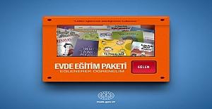 MEB'den Evde Eğitim Paketi