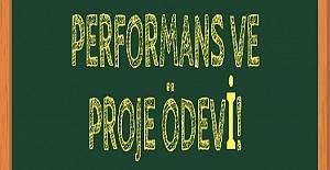 Performans Görev Konuları