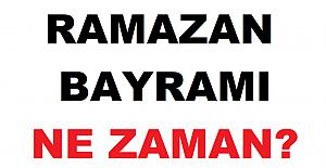 Ramazan Bayramı Ne Zaman 2021