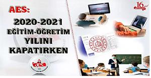 2020-2021 Eğitim-Öğretim Yılını Kapatırken