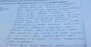 LGS'de fakir bir köy çocuğunun soru kitapçığına yazdıkları..