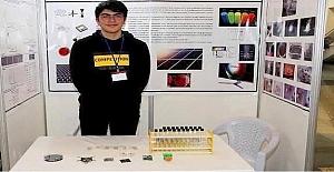 Lise Öğrencisi Feridun Balaban, Uluslarası Bilim ve Mühendislik Fuar'ında Dünya Birincisi Oldu