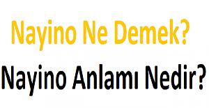 Nayino Ne Demek? Nayino Anlamı Nedir?