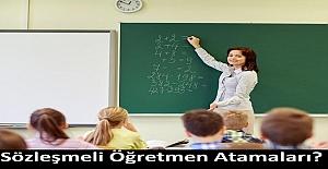 Sözleşmeli öğretmenler ne zaman il içi, il dışı ve özür grubu atamalarına başvurabilirler?