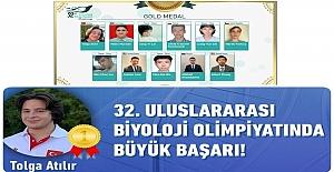 76 Ülkeden 304 Öğrencinin Yarıştığı 32. Uluslararası Biyoloji Olimpiyatında, Tolga Atılır Birinci Oldu