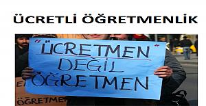 """MEB'İN FORMÜLÜ… """"ÜCRETLİ ÖĞRETMENLİK"""""""