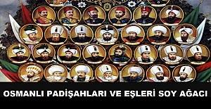 Osmanlı Padişahları ve Eşleri Soy Ağacı