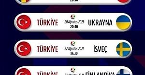2021 Avrupa Voleybol Şampiyonası A Milli Kadın Voleybol Takımı Grup Maçları