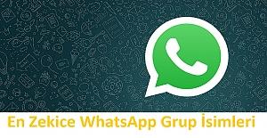 En Zekice WhatsApp Grup İsimleri