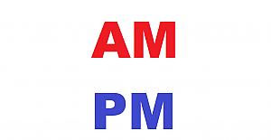İngilizce AM ve PM nedir? AM PM Nasıl kullanılır?