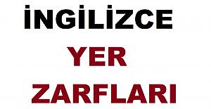 İngilizce Yer Zarfları Konu Anlatımı