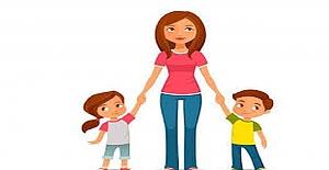 Anneler Günü İçin Kompozisyon