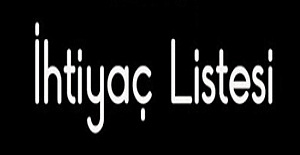 Örnek ilkokul ihtiyaç listesi