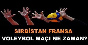 SIRBİSTAN FRANSA VOLEYBOL...