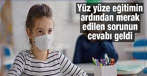 Türkiye Geneli Karantinaya Alınan Sınıf Sayısı