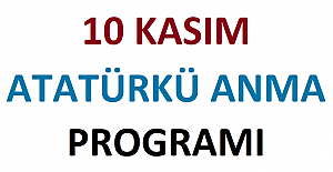 10 Kasım Atatürk#039;ü Anma Tören...
