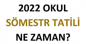 2022 Sömestr Tatili Ne Zaman?