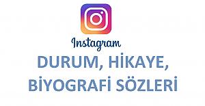 Instagram Durum, Hikaye, Biyografi Sözleri