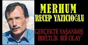 Recep Yazıcıoğlu'nun başhekimi görevden alma hikayesi nasıldır?