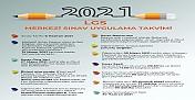 2021 Yılı LGS Merkezi Sınav Uygulama Takvimi