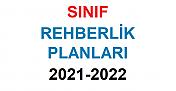 Sınıf Rehberlik Planları 2021-2022