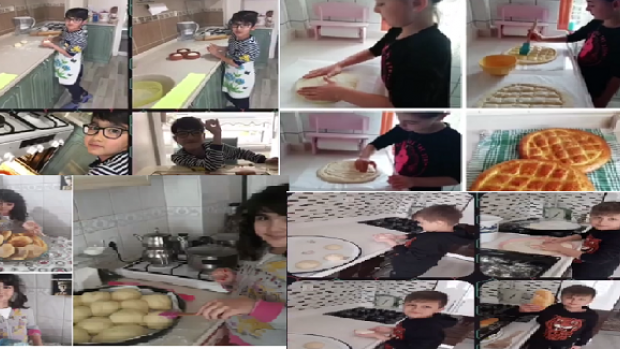 İlkokul Öğrencilerinden Örnek Olacak Proje. Kendi Ekmeğini Kendin Yap